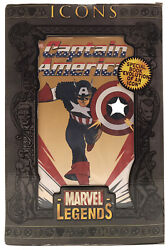 Marvel Legends Icons Captain America 12 Inch Action Figure
