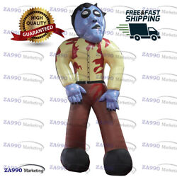 20ft Inflatable Scary Zombie Halloween Holiday Promotion With Air Blower