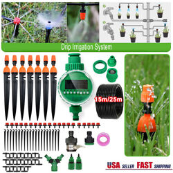 Drip Irrigation System Plant Timer Self Garden Watering Hose Spray With Y Value