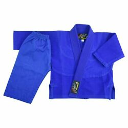 Playwell Baby Bjj Gi Blue Uniform Martial Arts Jiu Jitsu Suit Ju Infant Gifts