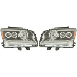For Lexus Gx460 Headlight Unit 2014-2019 Pair Lh And Rh Side Capa For Lx2502160