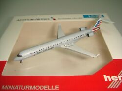 Herpa Wings 500 American Eagle Bombardier Crj-900er 2010s New Color 1500 Ng