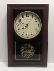 Solid Wood University Of New Hampshire Clocks Concord, Nh Historic Tested Works