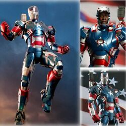 Hot Toy Iron Patriot Mms195 D01 Iron Man 3 Mint And New In The Box Diecast