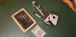 Vintage Hurst Mr Gasket 4sp V-gate Shifter. Ford Murcury. With A New Boot.