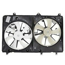 For Toyota Highlander Ac Radiator Fan Assembly 2010 11 12 2013 W/ Towing Package