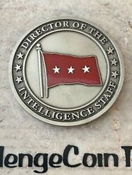 Director Of The Intelligence Staff Dni 3-star Army General Challenge Coin