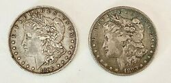 Wow__u.s. Morgan Silver Dolars In High Grade 1895-o And 1893, Other Coins,gold