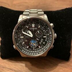Citizen Promaster By0080-65e Box Eco-drive Solar Mens Watch Authentic Working