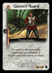 Queenand039s Guard - Premiere - Wheel Of Time Ccg Wot