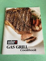 Vintage Weber Gas Grill Cookbook Cooking Recipes Cook Book
