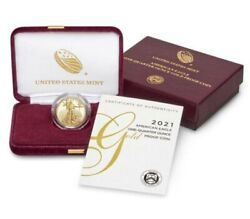 American Eagle 2021 One-quarter Ounce 21ed Gold Proof Coin