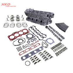2.0t Cylinder Headandcamshafts Andhead Gasket And Piston Kit Fit For Vw Jetta Audi A4