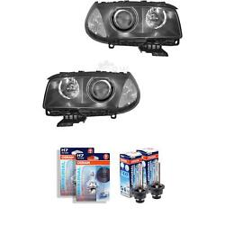 Xenon Headlight Set For Bmw X3 Year 04-06 With Indicator White D2s +h7 1342848