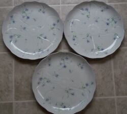 Set Of 3 Mikasa Spring Melodies Light Touch Fv 903  Dinner Plates 11 1/4
