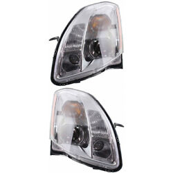 For Nissan Maxima Headlight 2005 2006 Lh And Rh Pair Hid Ni2502184 | 26060za91a