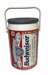 Vintage 1997 Budweiser Plastic Cooler Can Collectable 13.5