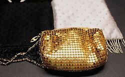 Lot Of 3 Gold Silver amp; Black Small Evening Bags Purses $9.95