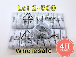 Lot Usb Type C Cable For Oem Samsung Galaxy S10 S20 Fast Charger Charging Cord