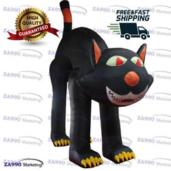20ft Inflatable Cat Black Giant Halloween Holiday Promotion With Air Blower