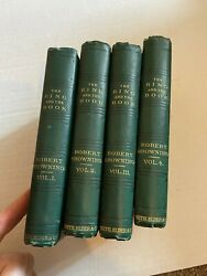 Rare Set Owned By Archibald Primrose Prime Minister Of Uk The Ring And The Books