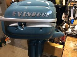 Evinrude Lightwin 3 Hp Outboard Boat Motor 1952