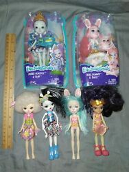 Enchantimals Dolls Lot Of 6 Clothing And Shoes