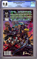 Cyberforce Limited Series 1 Cgc 9.8 Wp Newsstand 1st App. 1st Top Cow 1992