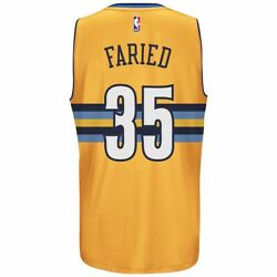 Kenneth Faried Denver Nuggets Nba Menand039s Swingman Home Road Alt Gold Jersey