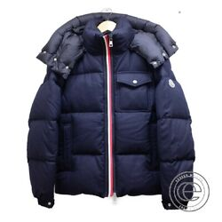 Moncler Brazeau Hooded Down Jacket 0 Navy