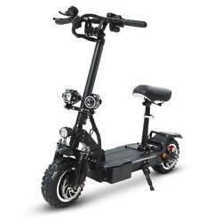 Electric Scooter 60v26ah Front And Rear Shock Absorption 11 Inch 3200w