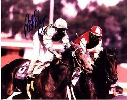 Pat Day Signed Autograph 8x10 Photo Picture Image Jockey Horse Racing Hof 3