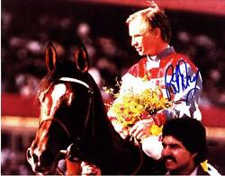 Pat Day Signed Autograph 8x10 Photo Picture Image Jockey Horse Racing Hof 2
