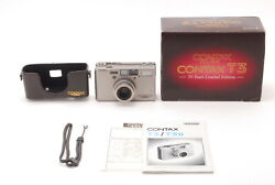 【nearmint+】contax T3 70 Years Limited Edition Point And Shoot Film Camera1820e533