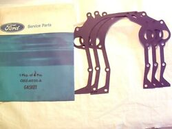 1968-1997 Ford Lincoln Mercury And Truck 429 460 V8 Nos Timing Cover Gaskets Pkg 3