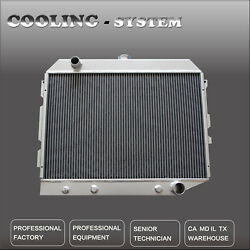 Cc374 3 Row Aluminum Radiator For 68-74 Dodge Charger Small Block 26 Core