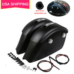Saddlebag Audio Lid Electronic Latch Fit For Indian Chieftain Roadmaster Classic