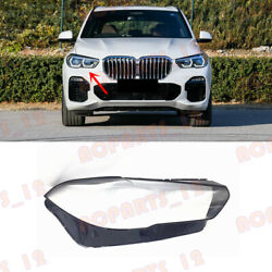 For Bmw X5 X5m G05 F95 2019-2021 Right Side Headlight Clean Cover Pc+glue