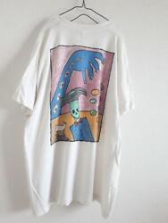 Vintage 1990 Fruits Of The Room Meat Puppets Graphic T Shirt Mens Xl Size