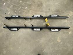 2015 Ford F350 Crew Cab Long Bed Aftermarket Running Boards Iron Cross Brand