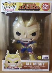 Funko Pop My Hero Academia All Might 10' In Gitd In-hand Sold Out