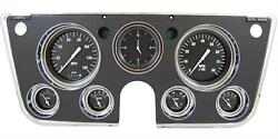 1967 - 1972 Chevy C10 Pu Pickup Truck Gauge Dash Panel For Ls Black Ct67hr