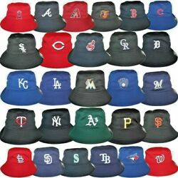 MLB Bucket Boonie Hat All 30 Baseball Team Lightweight We Sell Quality Hats LOOK