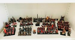 Warhammer Khorne Warriors Of Chaos Slaves To Darkness Army Aos 150+ Models Oop