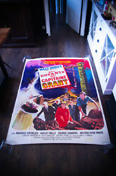 In Search Of The Castaways 4x6 Ft Rolled Vintage Movie Poster Original 1963