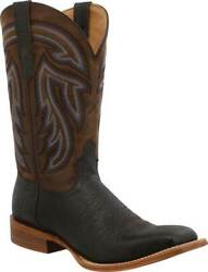 Menand039s Twisted X Mral023 12 Rancher Cowboy Boot Black/coffee Full Grain Leather