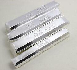 Pure Silver 9999 Silver Bar Silver Scrap 50g Each Bar With Stamp Ag9999 Silver