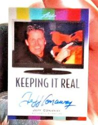 Jeff Conaway 2011 Pop Century Autograph Card Actor From The Movie Grease.