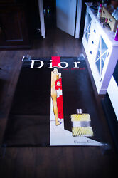 Dior Eau Sauvage By Gruau Style A 4x6 Ft Shelter Original Vintage Poster Used