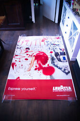 Lavazza By Erwin Olaff Style A 2002 4x6 Ft Original Vintage Advertising Poster